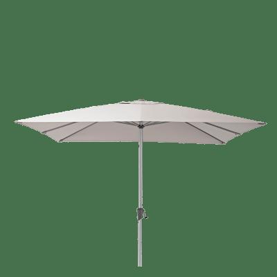Ombrellone NATERIAL Aura L 2.85 x P 2.85 m color tortora