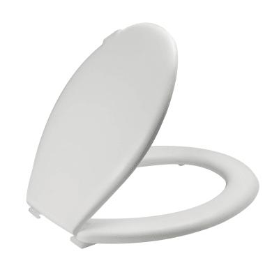 Copriwater ovale Cortina bianco