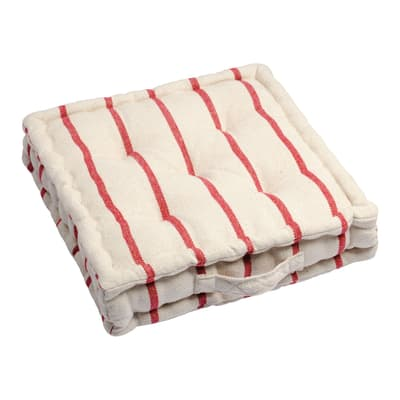 Cuscino da pavimento Saint Tropez rosso 45x45 cm