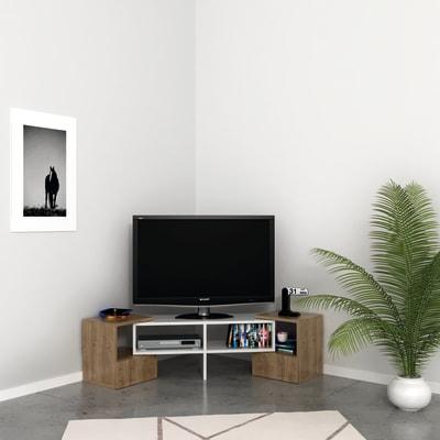 Mobile per TV L 141.2 x H 38.8 x P 29.7 cm Grigio