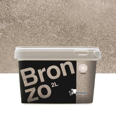 Pittura decorativa Metalli 2 l bronzo effetto cemento