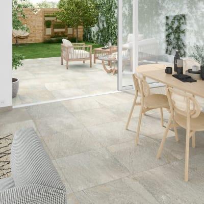 Piastrella da pavimento Stone 60 x 60 cm sp. 9.5 mm PEI 3/5 beige