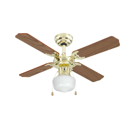Lampadario A Pale Leroy Merlin.Ventilatore Da Soffitto Mayotte Rovere In Acciaio Diam 91cm