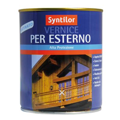 Vernice per legno da esterno liquido SYNTILOR 0.25 L noce medio satinato