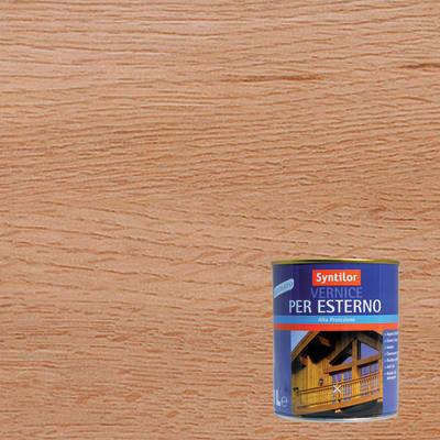 Vernice per legno da esterno liquido SYNTILOR 1 L rovere satinato
