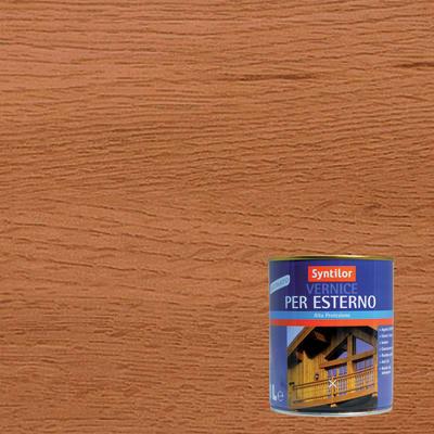 Vernice per legno da esterno liquido SYNTILOR 1 L teak satinato