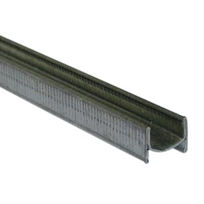 Profilo a h BO.75.7H.170 in ferro 2.7 m x 0.8 cm argento