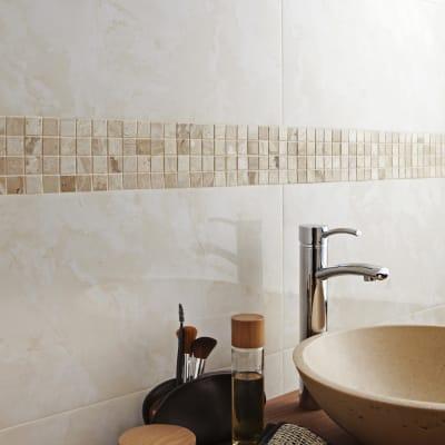Mosaico Byzance Beige H 30.5 x L 30 cm beige