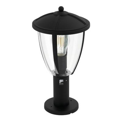 Palo della luce Comunero H30cm in alluminio, nero, E27 1xMAX60W IP44 EGLO
