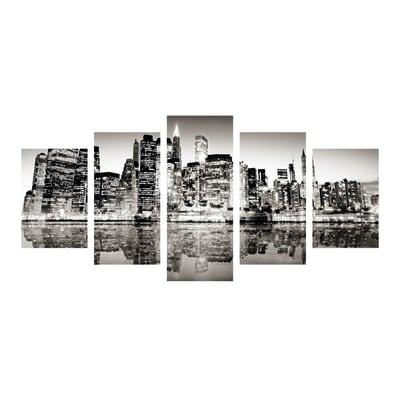 Quadro su tela Skyline 100x50 cm