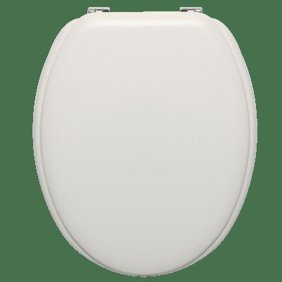 Copriwater ovale Universale Pop SENSEA mdf bianco