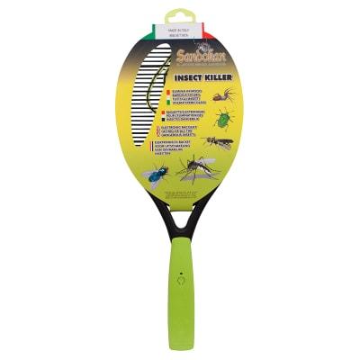 Elettro sterminatore trappola per zanzare, calabroni Sandokan a racchetta
