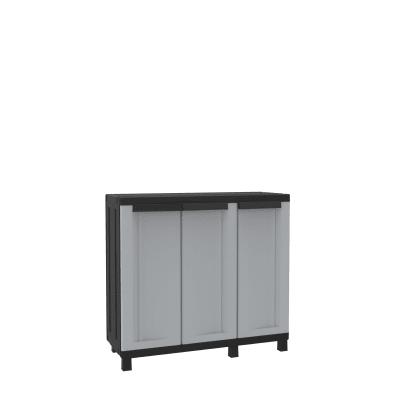 Armadio Twist Black L 102 x P 39 x H 91.5 cm grigio e nero