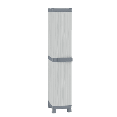 Armadio per scope Base 2350UW L 35 x P 43.8 x H 181.8 cm grigio chiaro