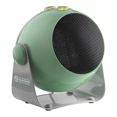 Termoventilatore elettrico OLIMPIA SPLENDID Caldodesign S verde e nero e grigio / argento 1800 W