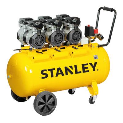Compressore silenziato STANLEY SILTEK TRIPLEX 100 , 3 hp, 8 bar, 100 L
