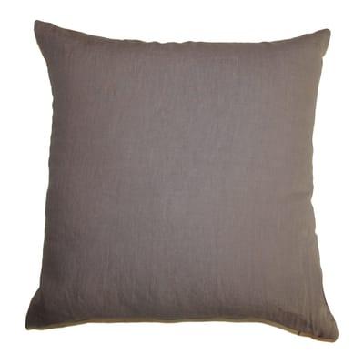 Cuscino Lino tortora 70x70 cm