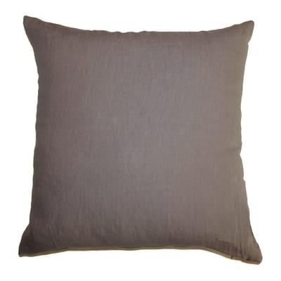 Cuscino Lino tortora 60x60 cm