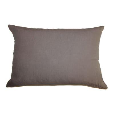 Cuscino Lino tortora 40x60 cm