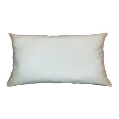 Cuscino Loneta bianco 30x60 cm