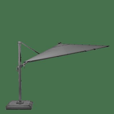 Ombrellone NATERIAL Sonora L 2.88 x P 2.88 m color grigio