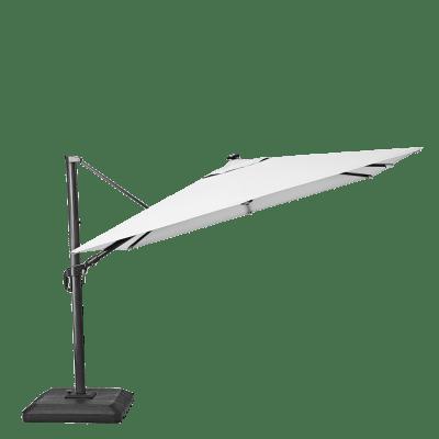 Ombrellone NATERIAL Sonora L 2.88 x P 2.88 m color bianco