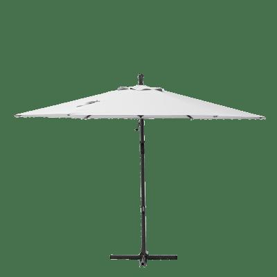 Ombrellone Polar L 2.9 x P 2.9 m color bianco