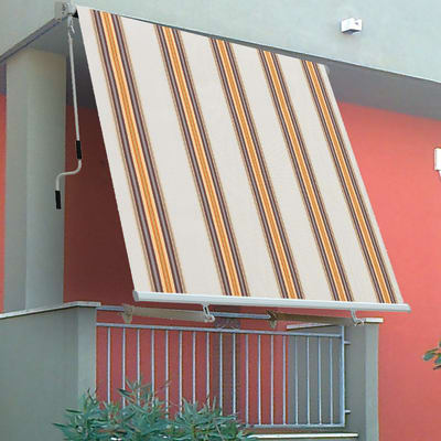 Tenda da sole a caduta con bracci 3 x 2.45 m beige