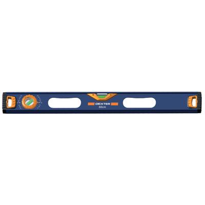 Livella manuale rettangolare DEXTER 60 cm 2 fiale