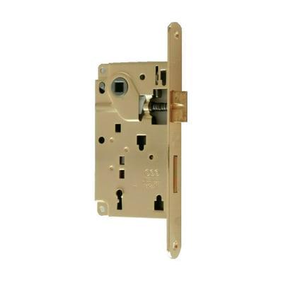 Serratura a incasso patent per porta per interni, entrata 5 cm, interasse 90 mm sinistra e destra