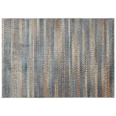 Tappeto Four maresons 2 , blu, 133x190