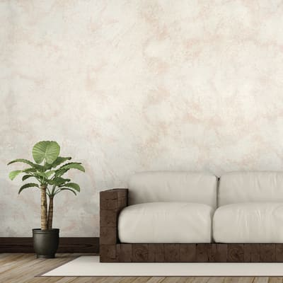 Pittura decorativa GECKOS Sabbia terracotta 4 l bianco sabbiato