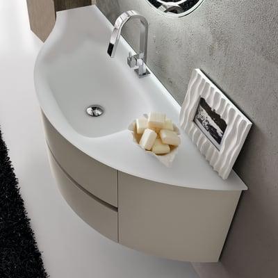 Mobile bagno Share bianco L 135 cm