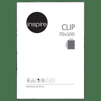 Cornice a giorno INSPIRE Clip per foto da 70x100 cm