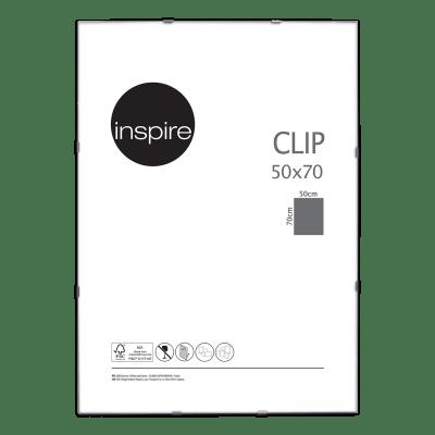 Cornice a giorno INSPIRE Clip per foto da 50x70 cm