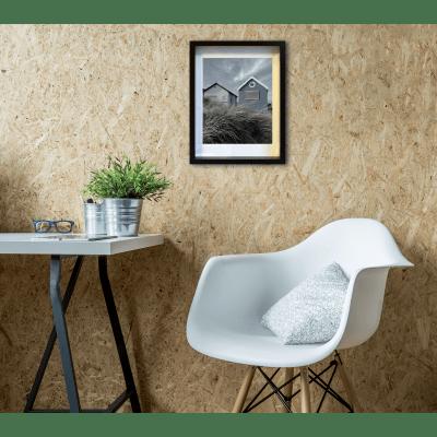 Cornice con passe-partout Inspire milo nero 40x50 cm