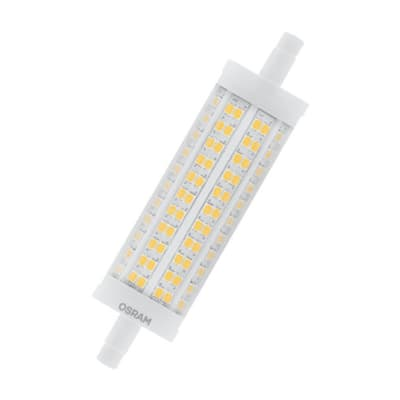Lampadina LED, R7S, Lineare, Trasparente, Luce calda, 17.5W=2452LM (equiv 150 W), 360° , OSRAM