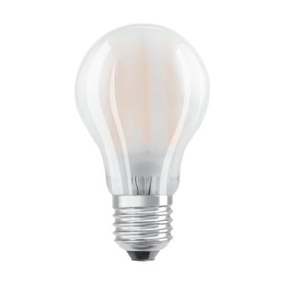 Lampadina LED filamento, E27, Goccia, Opaco, Luce calda, 1.5W=136LM (equiv 15 W), 300° , OSRAM