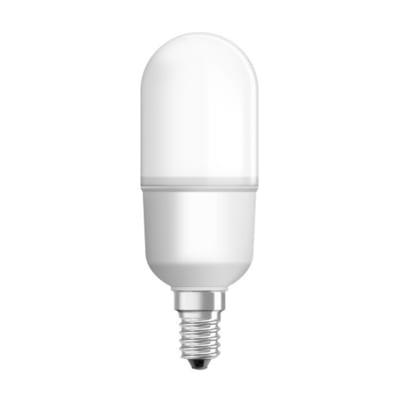 Lampadina LED, E14, Bulbo, Opaco, Luce calda, 10W=1050LM (equiv 75 W), 200° , OSRAM