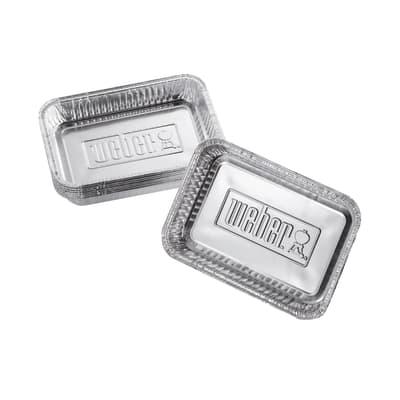 Piatti WEBER Vaschette per barbecue a gas , 10 pezzi