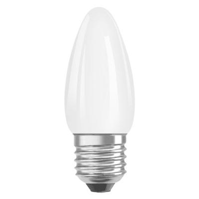 Lampadina LED filamento, E27, Oliva, Opaco, Luce calda, 4.5W=470LM (equiv 40 W), 300° , OSRAM