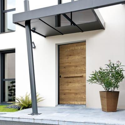 Porta blindata Bilico rovere L 120 x H 210 cm destra