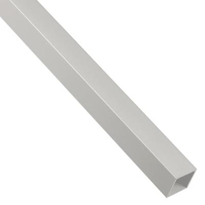 Profilo tubo quadrato STANDERS in alluminio 1 m x 2 cm