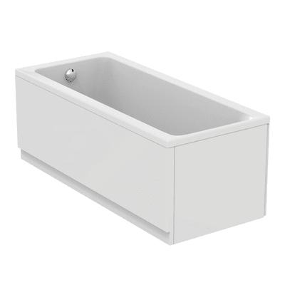 Vasca e pannello piatto Flower Air 160 x 70 cm bianco IDEAL STANDARD