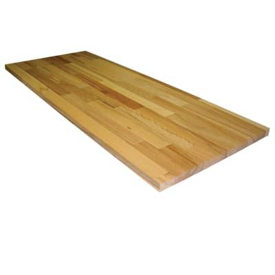 Tavola compensato di legno faggio 1° scelta L 100 x H 40 cm Sp 20 mm