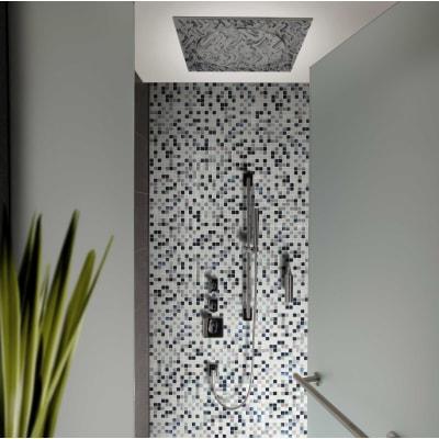 Mosaico Black & White H 31.8 x L 31.8 cm bianco/nero
