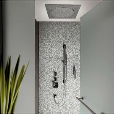 Mosaico Whale10 H 31.8 x L 31.8 cm grigio/argento/bianco
