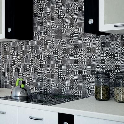 Mosaico Cementina Nera H 30 X L 30 Cm Multicolore Prezzo Online Leroy Merlin
