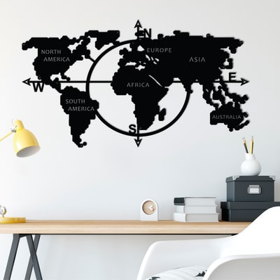 Decorazione da parete MAP15 110x62 cm