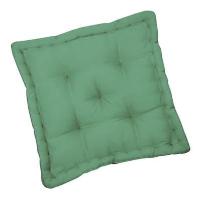 Cuscino da pavimento INSPIRE Elema verde 40x40 cm Ø 0 cm